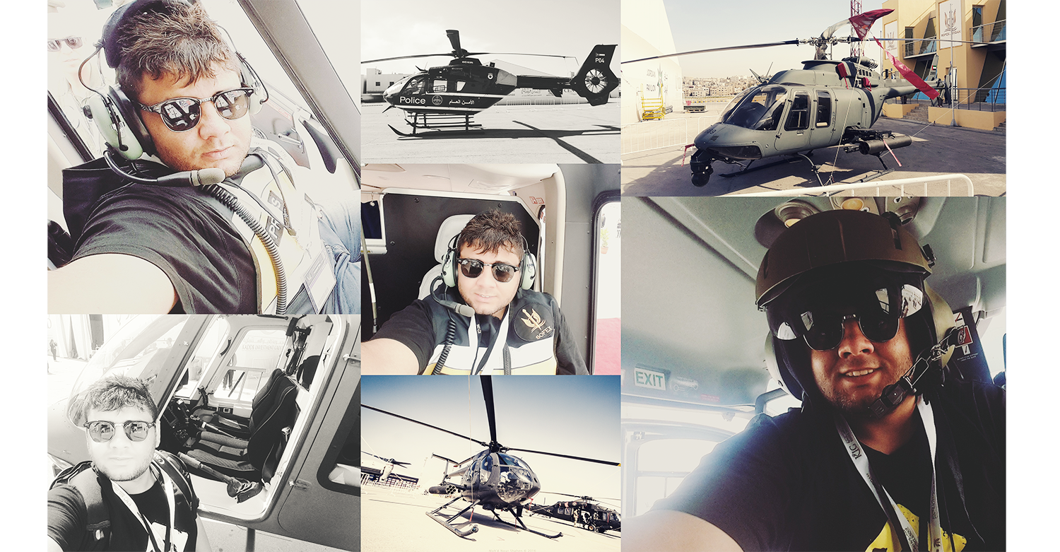 Finally the helicopter !!